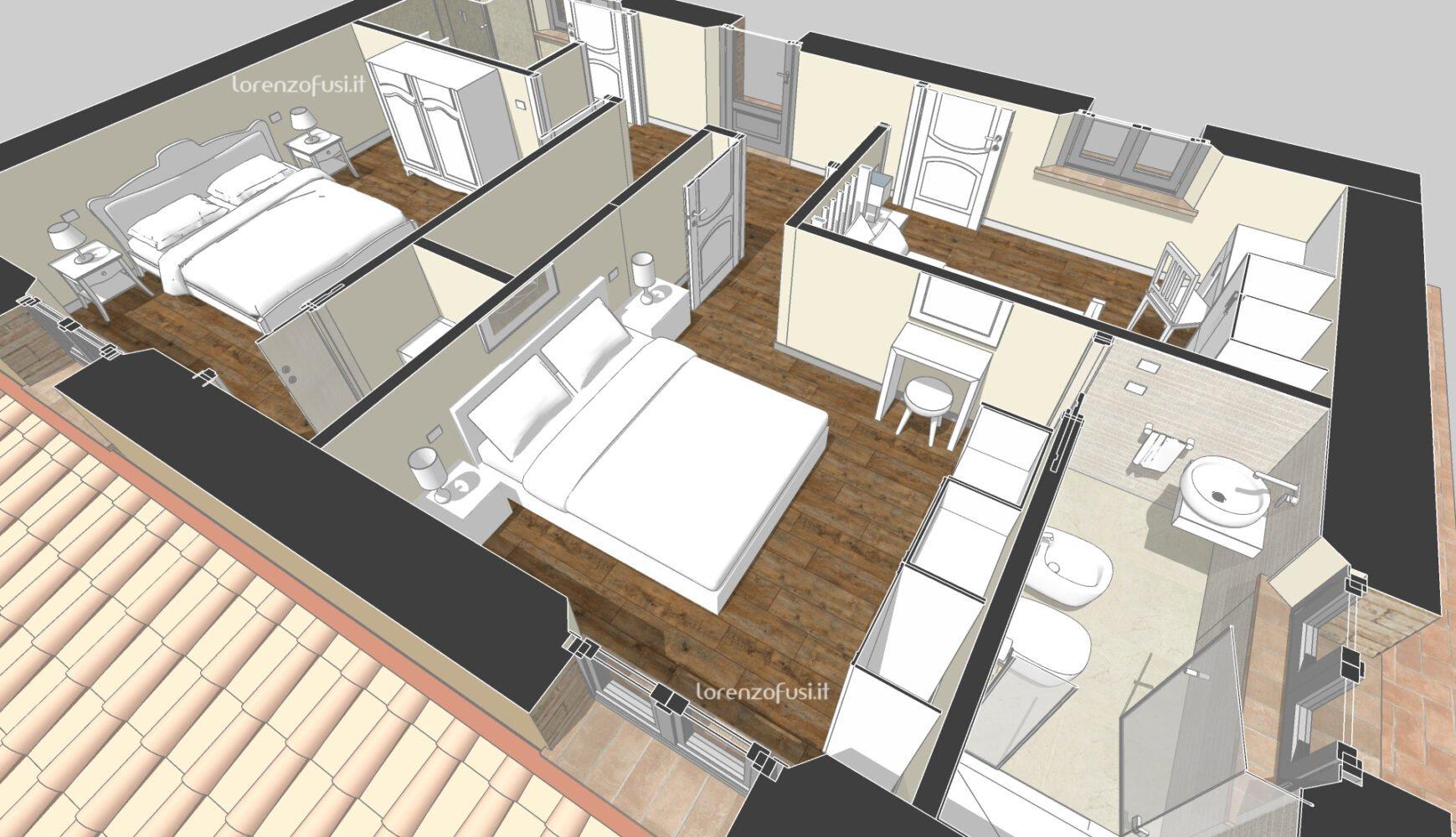 first floor perspective