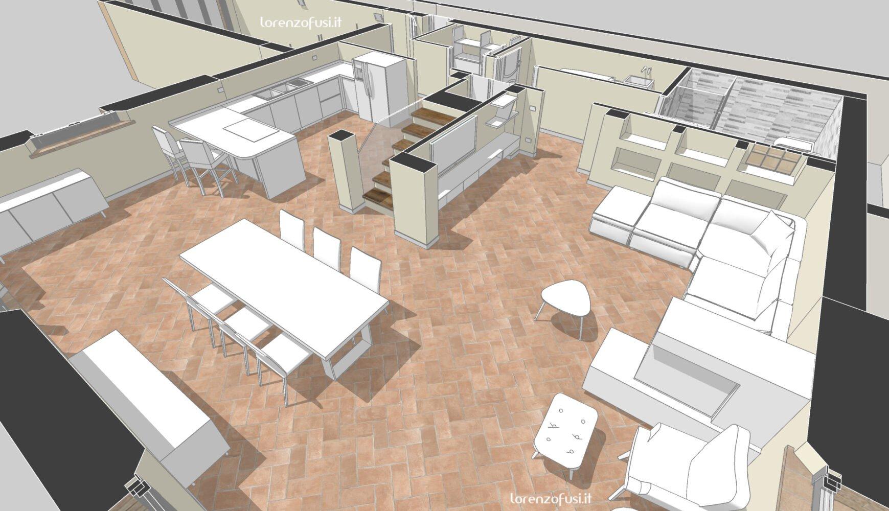 ground floor perspective