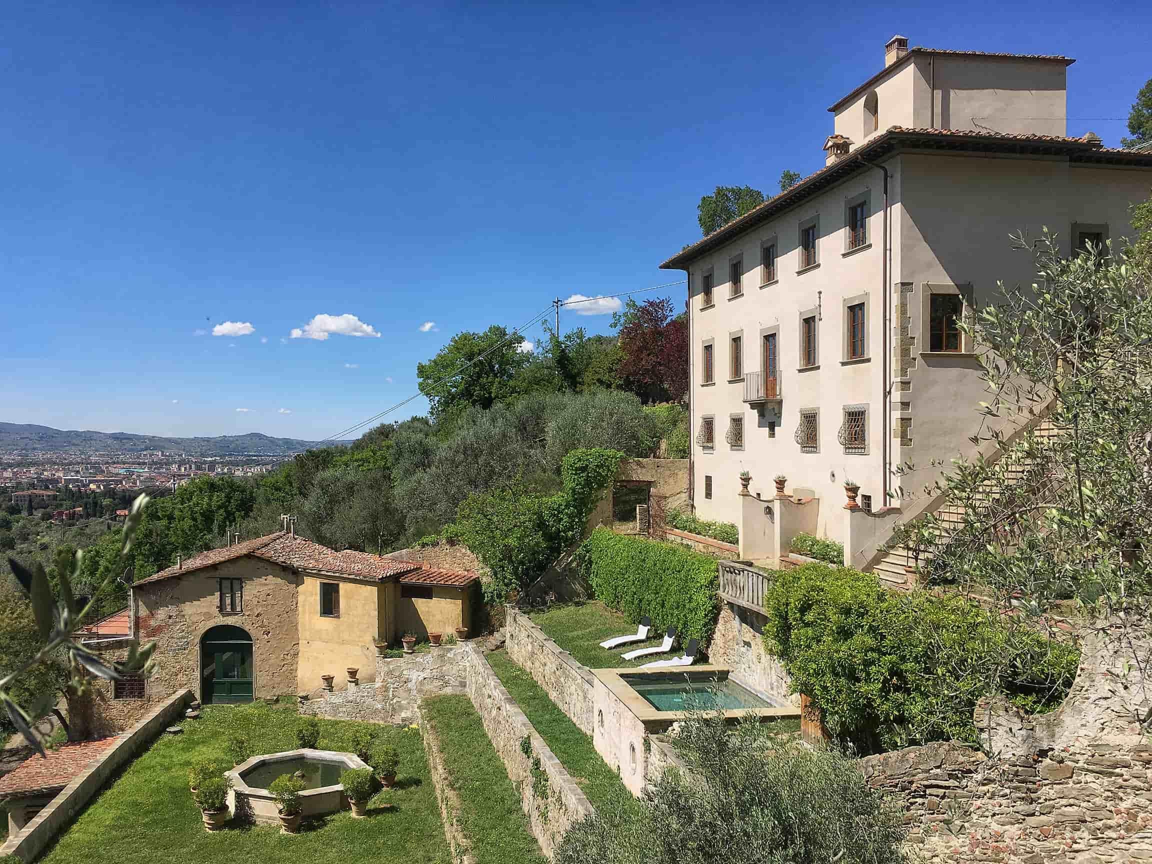 villa near florence