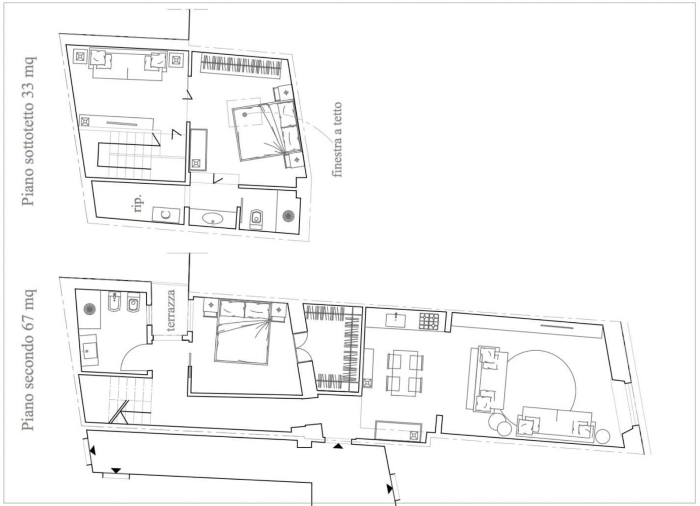 Floorplan first and second level