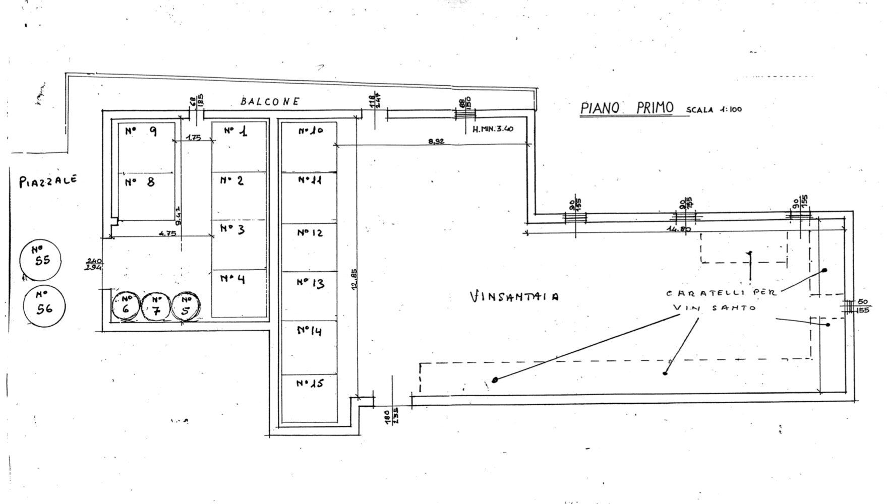floor plan cellar 3