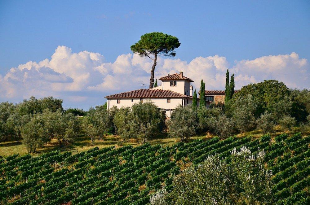 villa tower tuscany